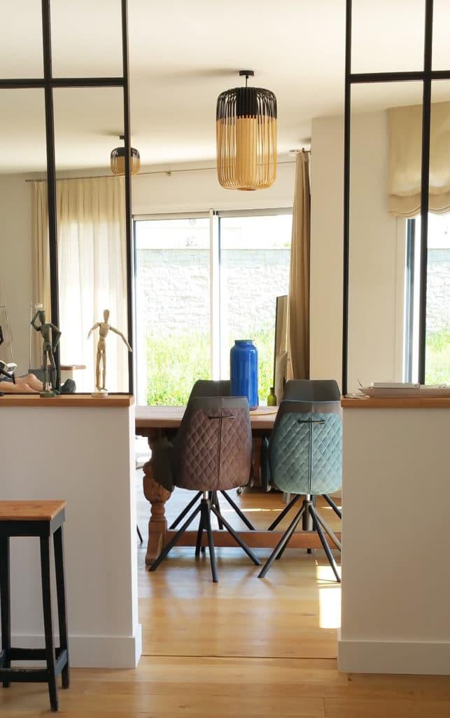 pièces de vie d'une maison bretonne