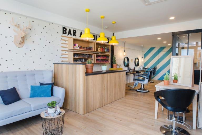 Bar à vernis du salon Rêve en tête
